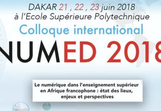 Ouverture de la première édition du colloque international NUMED 2018 prévue Jeudi